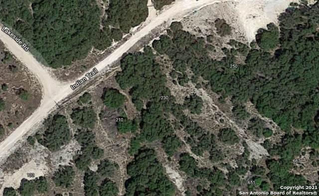 230 Indian Trail, Spring Branch, TX 78070 (MLS #1549820) :: NewHomePrograms.com