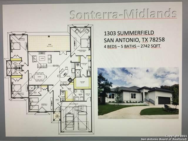 1303 Summerfield, San Antonio, TX 78258 (MLS #1551013) :: The Glover Homes & Land Group