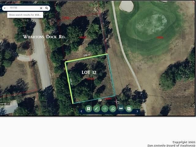 LOT 12 Whartons Dock Rd, Bandera, TX 78003 (MLS #1553604) :: The Gradiz Group