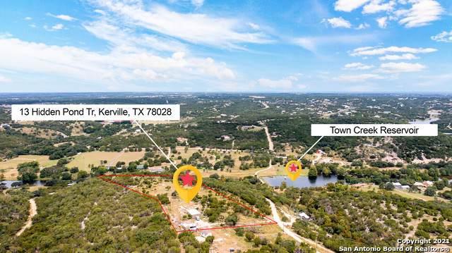 133 Hidden Pond Trail N, Kerrville, TX 78028 (MLS #1556564) :: Neal & Neal Team