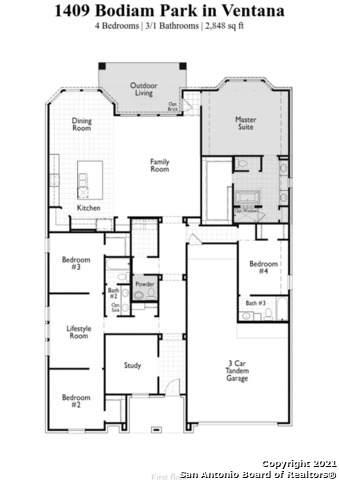 1409 Bodiam, Bulverde, TX 78163 (MLS #1557445) :: Alexis Weigand Real Estate Group
