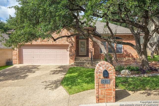 1419 Canyon Edge, San Antonio, TX 78248 (MLS #1560478) :: The Real Estate Jesus Team