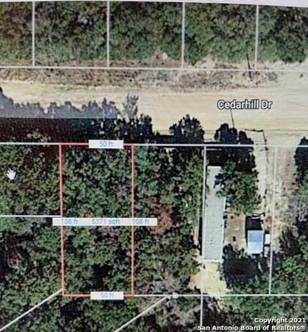LOT Cedar Hill Dr, Bandera, TX 78003 (MLS #1563439) :: Phyllis Browning Company