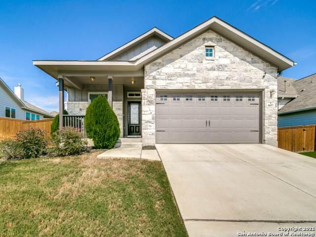 6657 Bowie Cove, Schertz, TX 78108 (MLS #1565841) :: Real Estate by Design