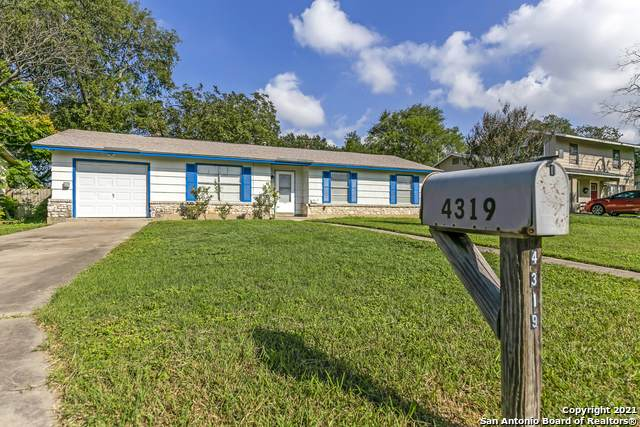 4319 Parkwood Dr, San Antonio, TX 78218 (MLS #1567720) :: Beth Ann Falcon Real Estate