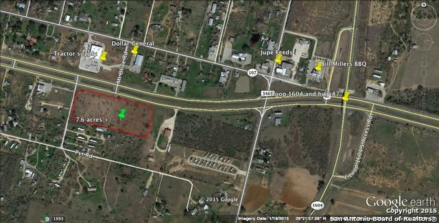 HWY 87 Hwy 87, Adkins, TX 78101 (MLS #1109225) :: Tom White Group