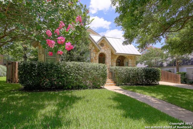 319 Cloverleaf Ave, Alamo Heights, TX 78209 (MLS #1256679) :: Alexis Weigand Real Estate Group