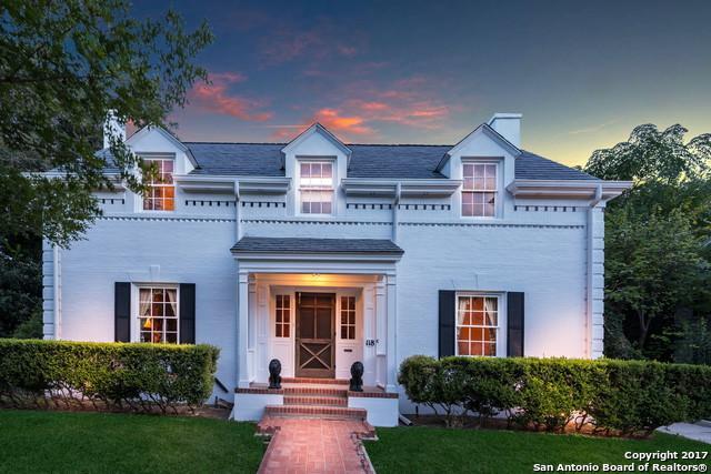 118 E Hollywood Ave, San Antonio, TX 78212 (MLS #1266663) :: Exquisite Properties, LLC
