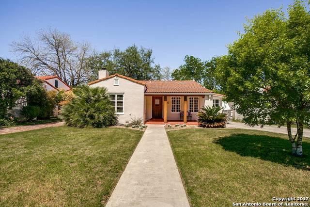 229 W Hollywood Ave, San Antonio, TX 78212 (MLS #1280548) :: Exquisite Properties, LLC