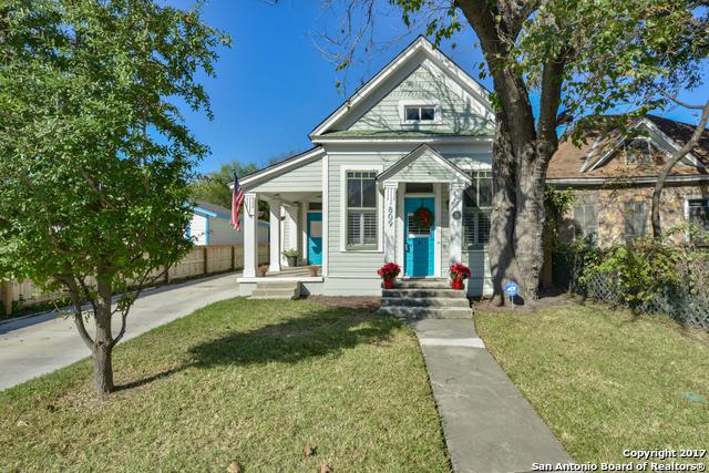 809 Labor St, San Antonio, TX 78210 (MLS #1280786) :: Exquisite Properties, LLC