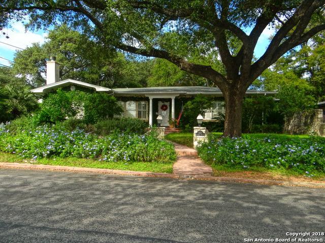 201 E Kings Hwy, San Antonio, TX 78209 (MLS #1294947) :: Exquisite Properties, LLC