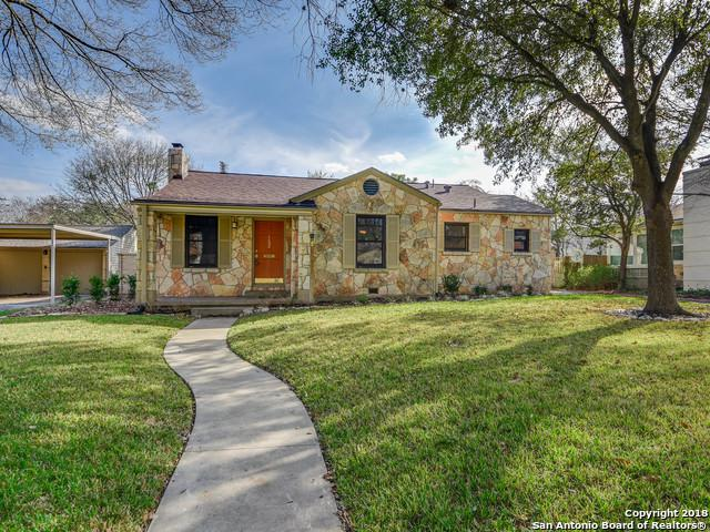 152 E Elmview Pl, Alamo Heights, TX 78209 (MLS #1295781) :: Ultimate Real Estate Services