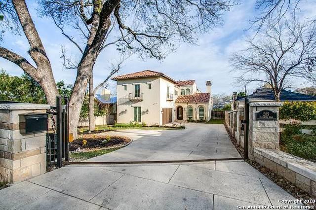 205 Elizabeth Rd, Terrell Hills, TX 78209 (MLS #1298237) :: The Castillo Group