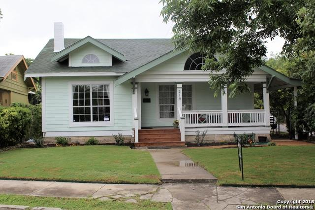 214 Loretta Pl, San Antonio, TX 78210 (MLS #1313250) :: Exquisite Properties, LLC