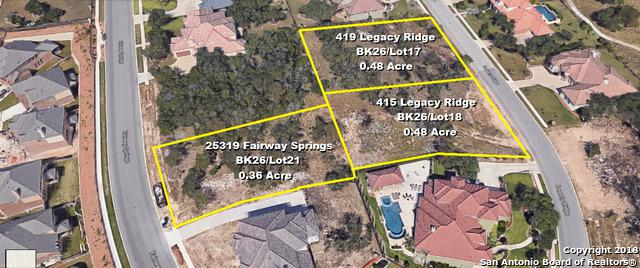 415 Legacy Ridge, San Antonio, TX 78260 (MLS #1315255) :: Exquisite Properties, LLC