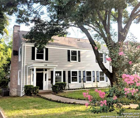 418 E Huisache Ave, San Antonio, TX 78212 (MLS #1317899) :: Exquisite Properties, LLC