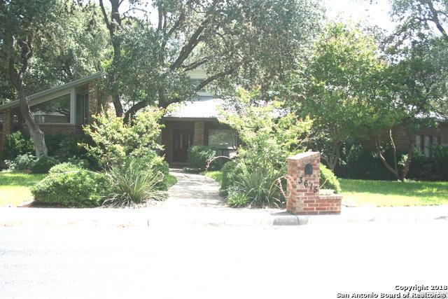3615 Hunters Cliff, San Antonio, TX 78230 (MLS #1332535) :: Exquisite Properties, LLC
