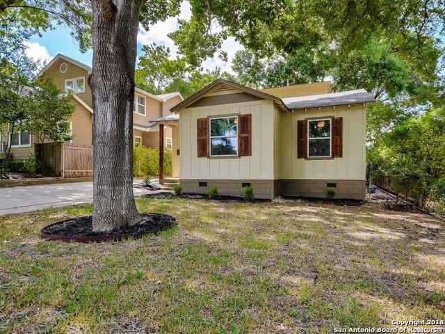 544 Argo Ave, Alamo Heights, TX 78209 (MLS #1333170) :: Exquisite Properties, LLC
