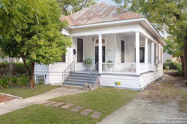 123 Callaghan Ave, San Antonio, TX 78210 (MLS #1336774) :: Exquisite Properties, LLC