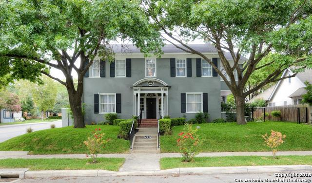 343 W Gramercy Pl, San Antonio, TX 78212 (MLS #1340762) :: Exquisite Properties, LLC