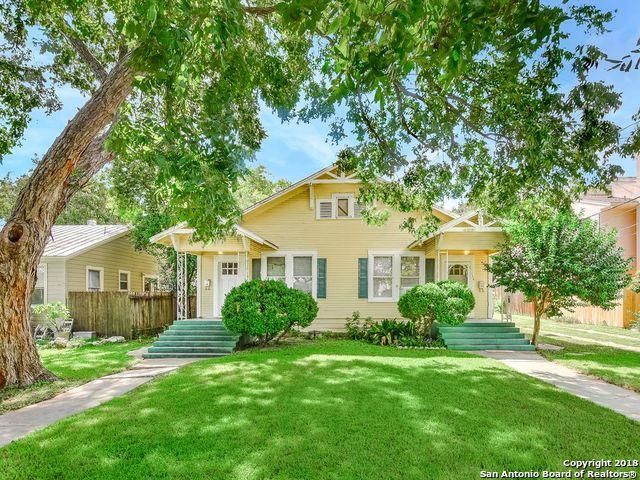 134 Montclair St, Alamo Heights, TX 78209 (MLS #1343876) :: The Castillo Group