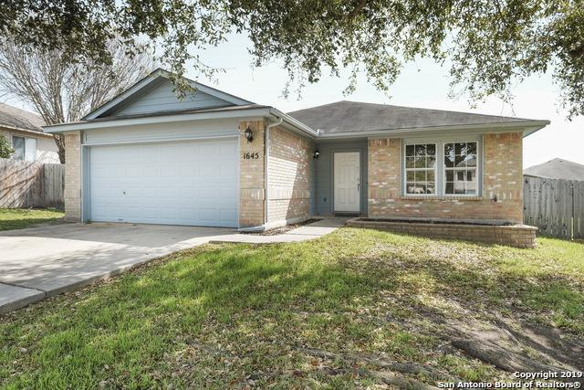 1645 Sunstone Circle, New Braunfels, TX 78130 (MLS #1344584) :: Alexis Weigand Real Estate Group