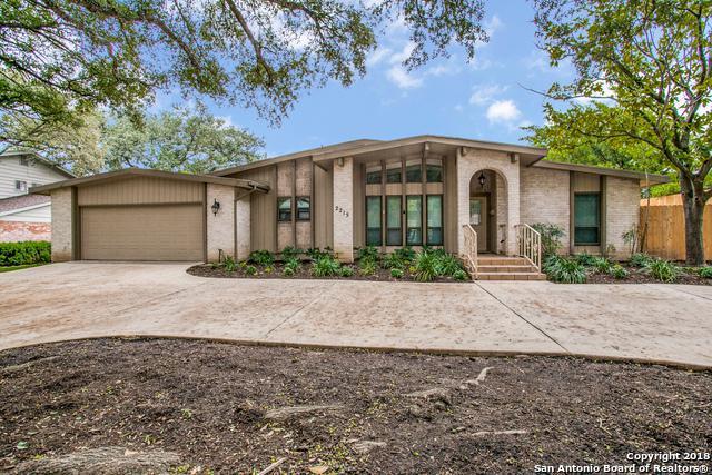 2215 Briarwood Dr, San Antonio, TX 78209 (MLS #1344780) :: Alexis Weigand Real Estate Group