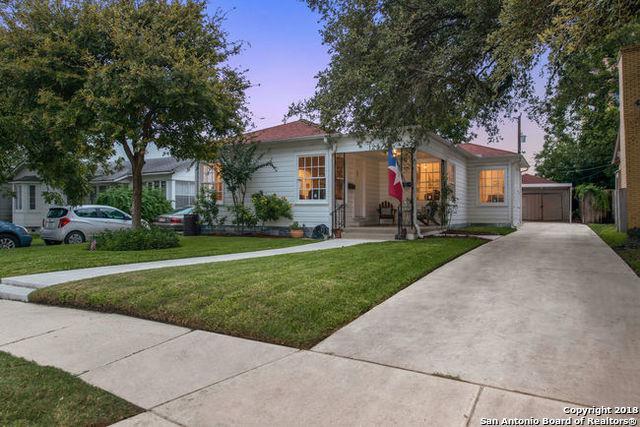 123 Allensworth St, San Antonio, TX 78209 (MLS #1345533) :: Alexis Weigand Real Estate Group
