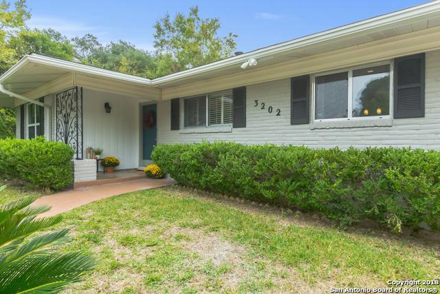 3202 Bent Bow Dr, San Antonio, TX 78209 (MLS #1348664) :: The Suzanne Kuntz Real Estate Team