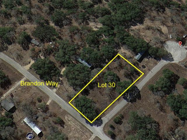 LOT 30 Brandon Way, Poteet, TX 78065 (MLS #1352976) :: Vivid Realty