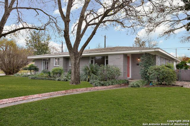 642 Brightwood Pl, San Antonio, TX 78209 (MLS #1353239) :: Alexis Weigand Real Estate Group