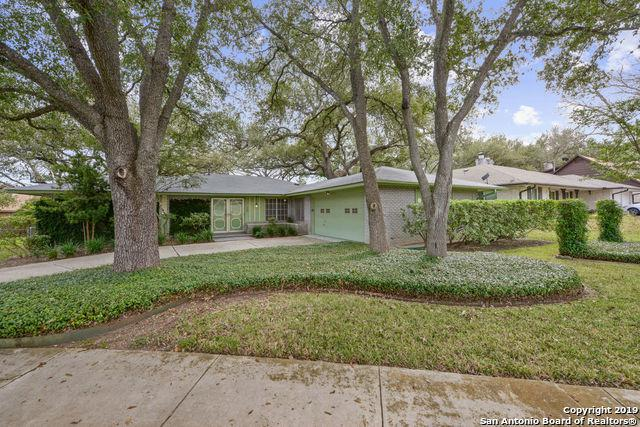 3206 Litchfield Drive, San Antonio, TX 78230 (MLS #1364567) :: Alexis Weigand Real Estate Group