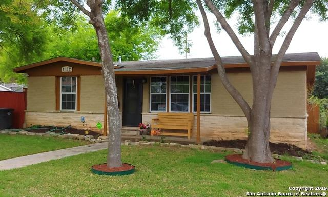 1152 Greer St, San Antonio, TX 78210 (MLS #1364728) :: The Castillo Group