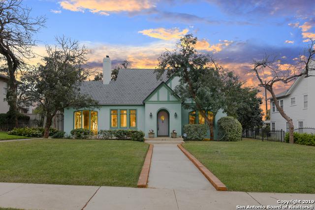 210 W Gramercy Pl, San Antonio, TX 78212 (MLS #1368041) :: The Mullen Group | RE/MAX Access