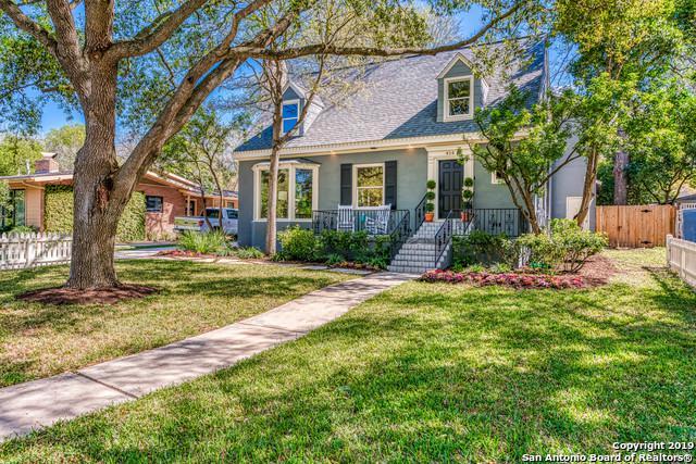 414 Alamo Heights Boulevard, Alamo Heights, TX 78209 (MLS #1370225) :: Exquisite Properties, LLC