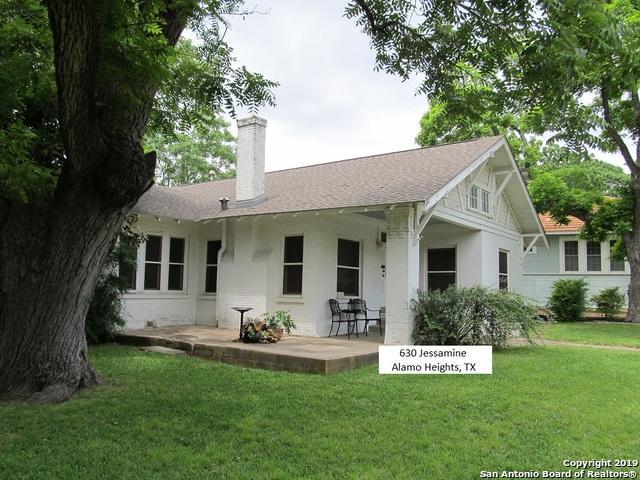 630 Jessamine St, Alamo Heights, TX 78209 (MLS #1380238) :: Reyes Signature Properties