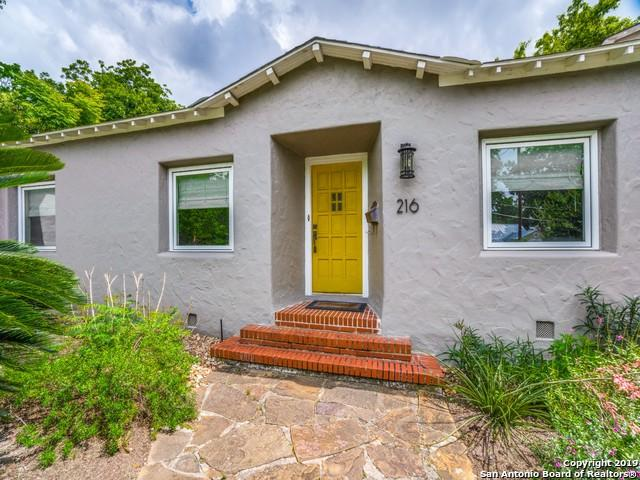 216 Inslee Ave, Alamo Heights, TX 78209 (MLS #1385104) :: The Castillo Group