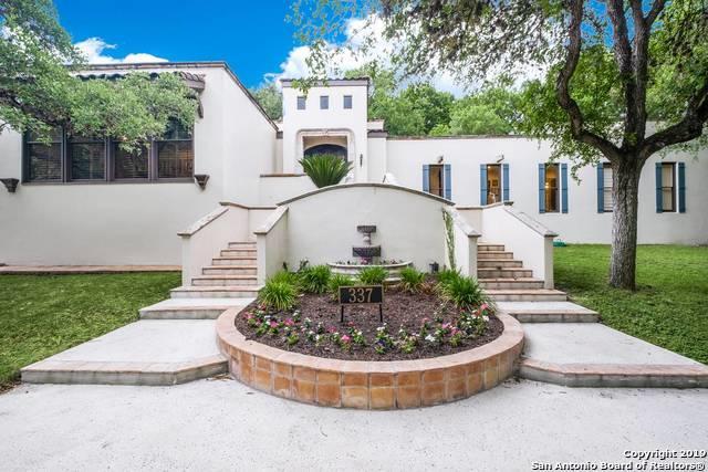 337 Paseo Encinal St, Olmos Park, TX 78212 (MLS #1386678) :: BHGRE HomeCity