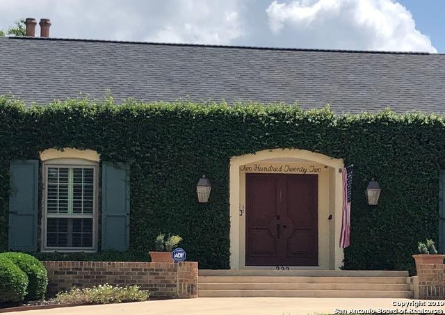 222 Treasure Way, San Antonio, TX 78209 (MLS #1387137) :: Alexis Weigand Real Estate Group