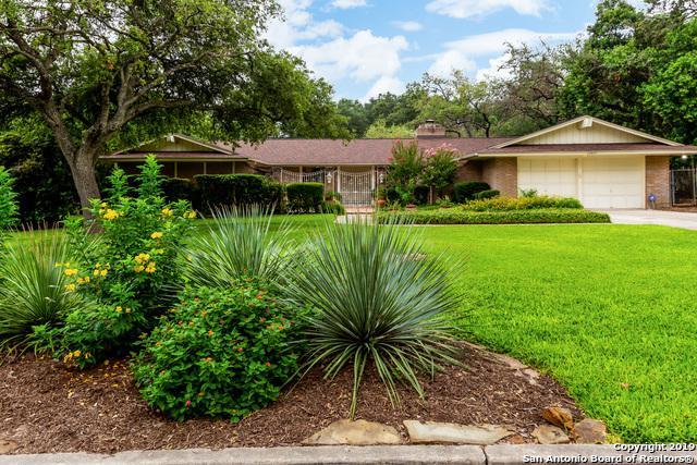 10407 Monte Sereno, San Antonio, TX 78213 (MLS #1394105) :: The Mullen Group | RE/MAX Access