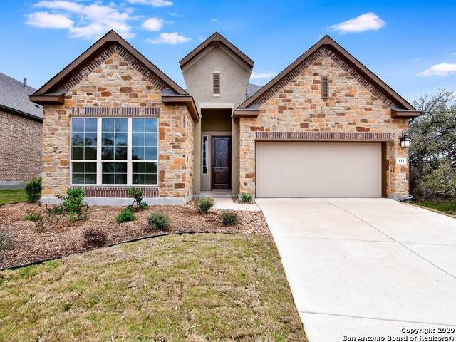 111 Cinnamon Creek, Boerne, TX 78006 (MLS #1411241) :: Real Estate by Design