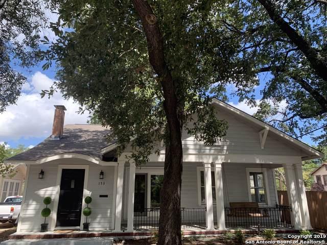 153 E Rosewood Ave, San Antonio, TX 78212 (MLS #1413404) :: Laura Yznaga | Hometeam of America