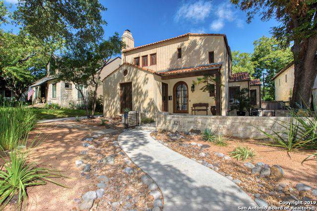 321 Wildrose Ave, San Antonio, TX 78209 (MLS #1416080) :: Laura Yznaga | Hometeam of America