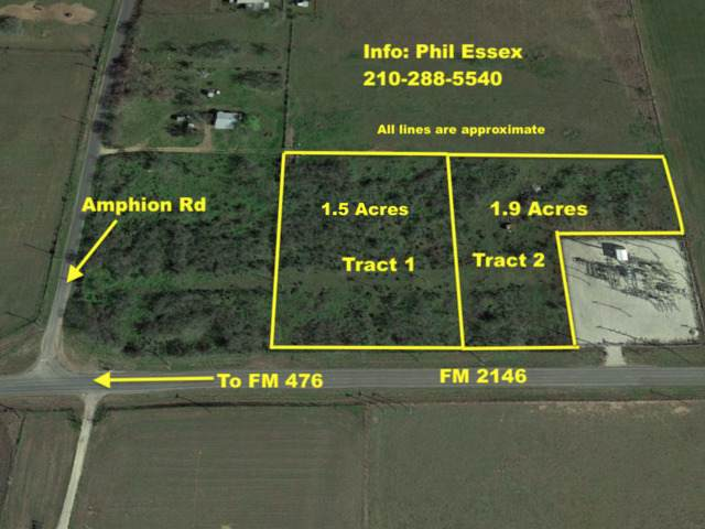 1.5 AC Fm 2146, Poteet, TX 78065 (MLS #1423153) :: Alexis Weigand Real Estate Group