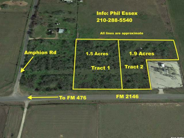 1.9 AC Fm 2146, Poteet, TX 78065 (#1423196) :: The Perry Henderson Group at Berkshire Hathaway Texas Realty