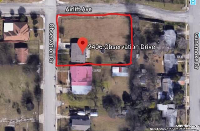 2406 Observation Dr, San Antonio, TX 78227 (MLS #1425664) :: Neal & Neal Team