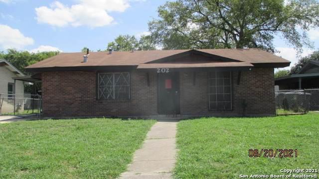 202 Park Plaza, San Antonio, TX 78237 (MLS #1436756) :: The Rise Property Group