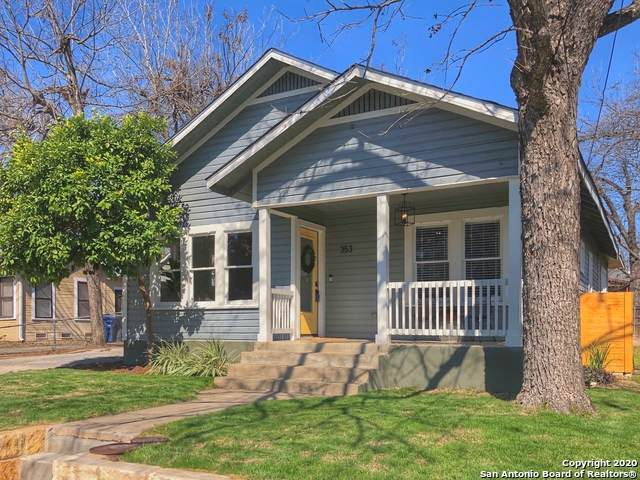 353 E Woodlawn Ave, San Antonio, TX 78212 (MLS #1439322) :: Vivid Realty