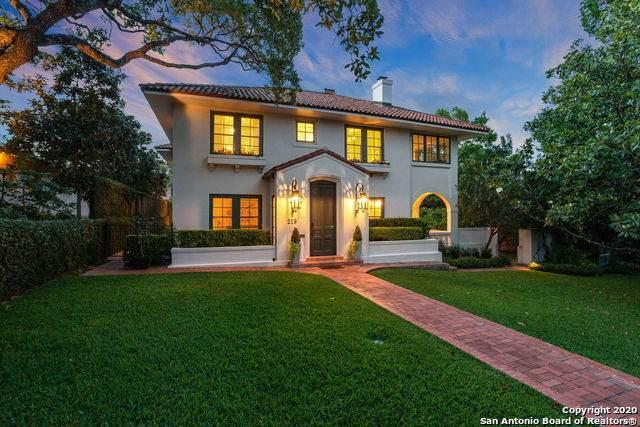 219 Argyle Ave, Alamo Heights, TX 78209 (MLS #1454643) :: Santos and Sandberg