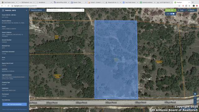 LOT 87 Billings Forest Rd, Boerne, TX 78006 (MLS #1466025) :: 2Halls Property Team | Berkshire Hathaway HomeServices PenFed Realty